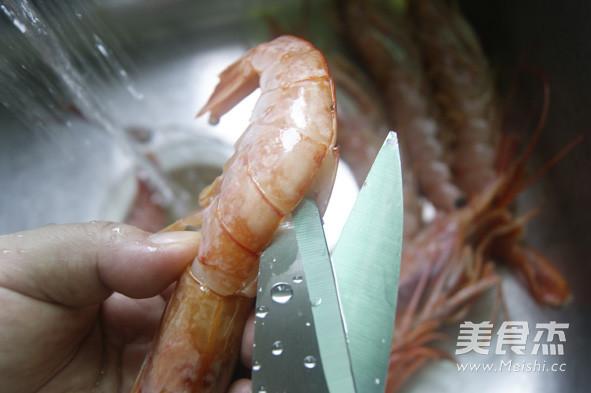香煎阿根廷红虾的家常做法