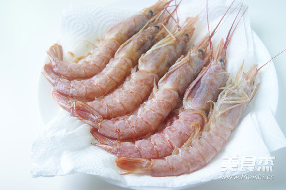 香煎阿根廷红虾怎么吃