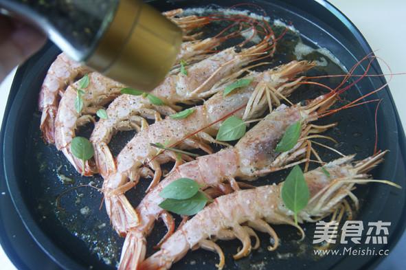 香煎阿根廷红虾怎么炖