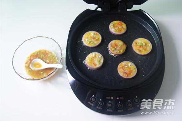 挑吃的小朋友也会爱上  【鲜虾杂蔬洋葱圈蛋饼】怎么煮