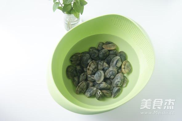 蛤蜊的特色吃法 【芥末油拌蛤蜊】的做法图解