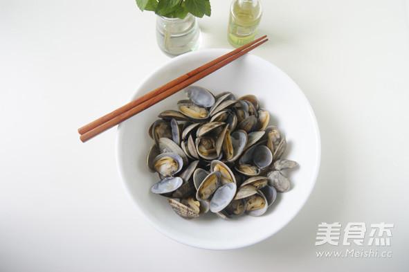 蛤蜊的特色吃法 【芥末油拌蛤蜊】怎么做
