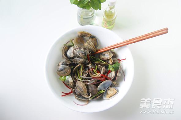 蛤蜊的特色吃法 【芥末油拌蛤蜊】怎么煸