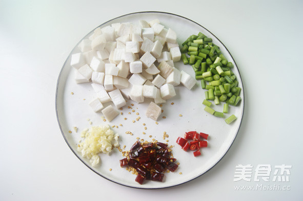素菜也可以比肉还美味【宫保杏鲍菇】的做法图解