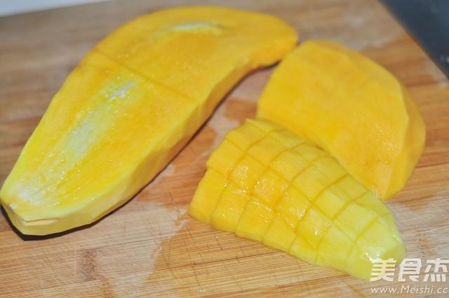 芒果酸奶奶昔的做法图解