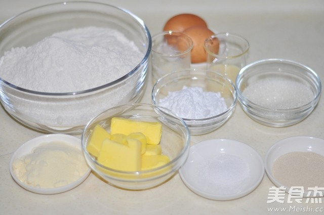 蛋黄酱面包的做法大全