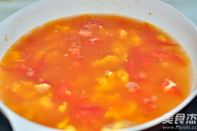 西红柿鸡蛋疙瘩汤怎么吃