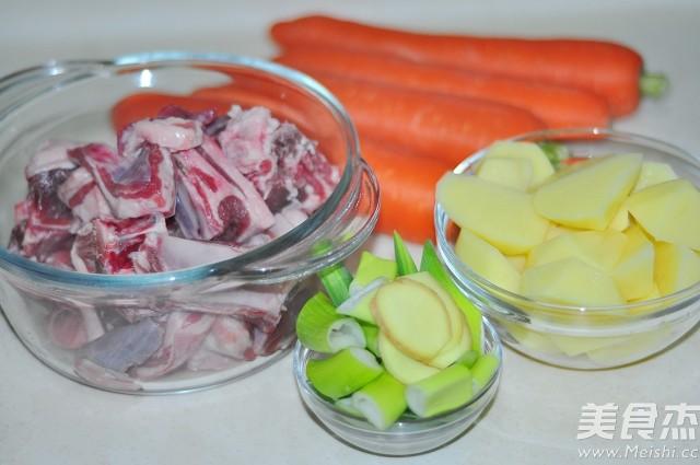 香浓软糯的胡萝卜焖羊肉的做法大全