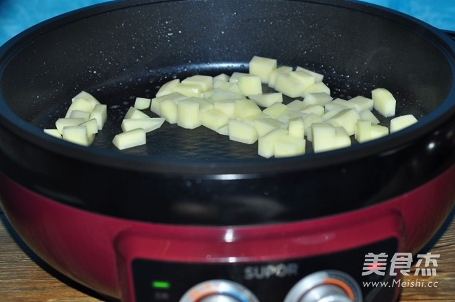 紫苏梅炒鸡丁+怎么炖
