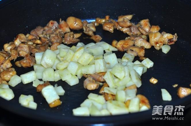 紫苏梅炒鸡丁+怎样做