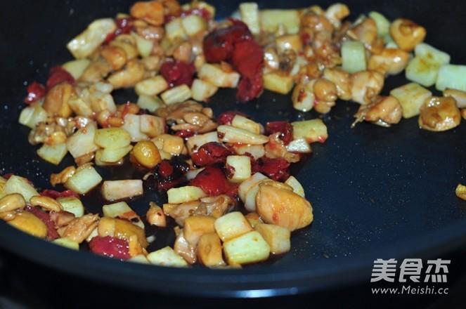 紫苏梅炒鸡丁+怎样煮