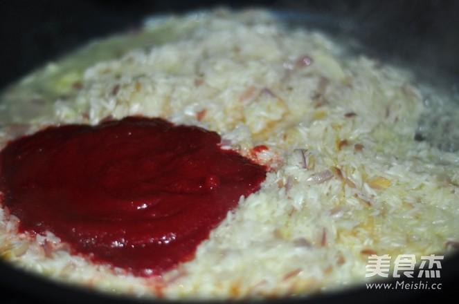 奶油甜菜根炖饭怎么煮