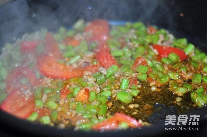 茄汁肉末豆角怎么煮