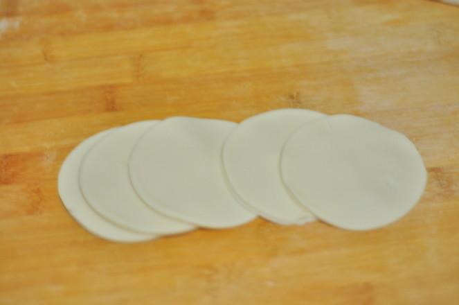 豆角猪肉彩色饺子怎么煮