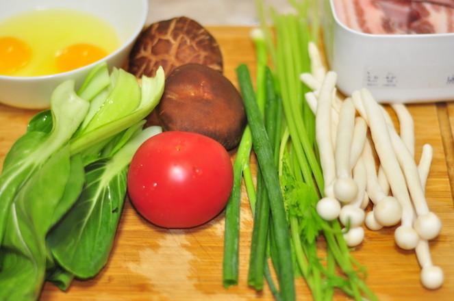 番茄鸡蛋炝锅面的做法大全