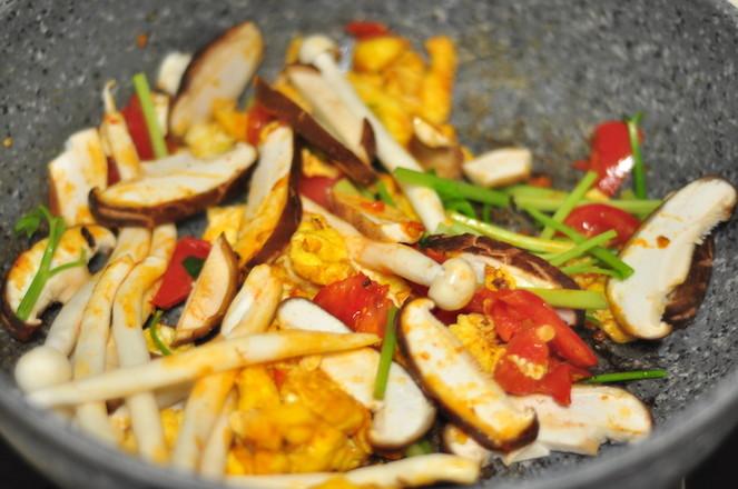 番茄鸡蛋炝锅面怎么吃