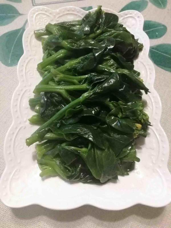 广式菜苔……耗汁菜苔的家常做法