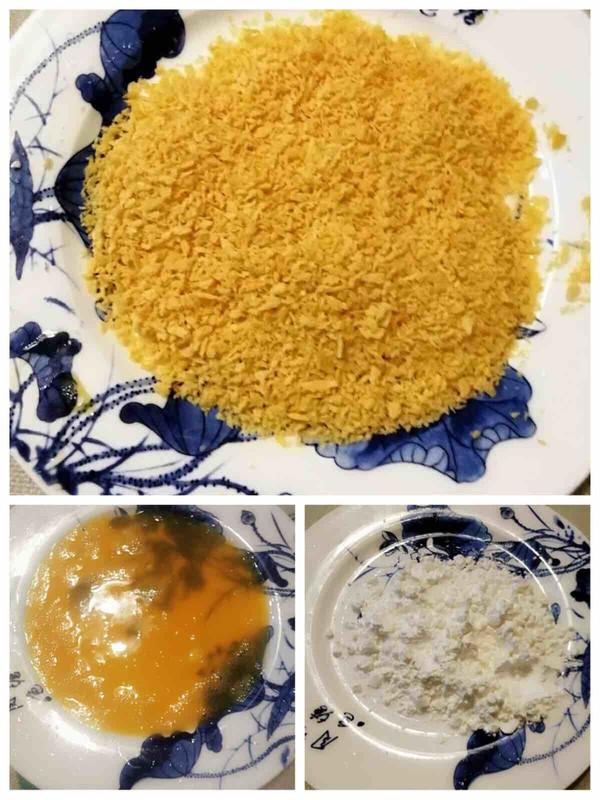香酥烤鱼排……孩子的最爱的步骤