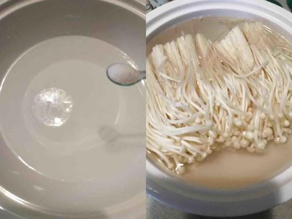 清蒸金针菇的做法图解
