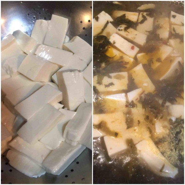 老坛酸菜豆腐怎么吃