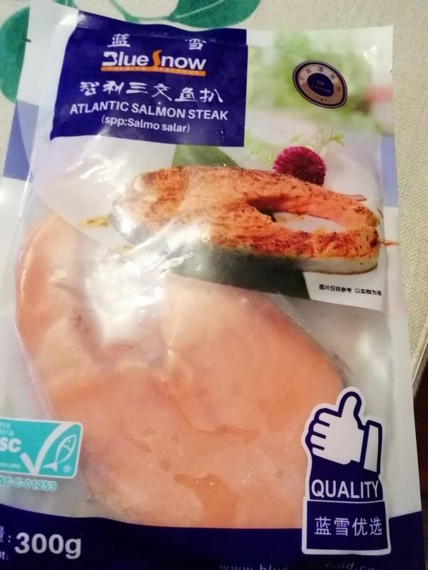 酥烤三文鱼的步骤