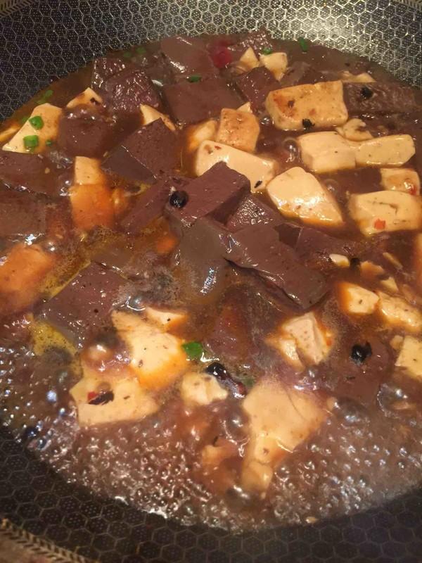 鸭血烩豆腐怎么做