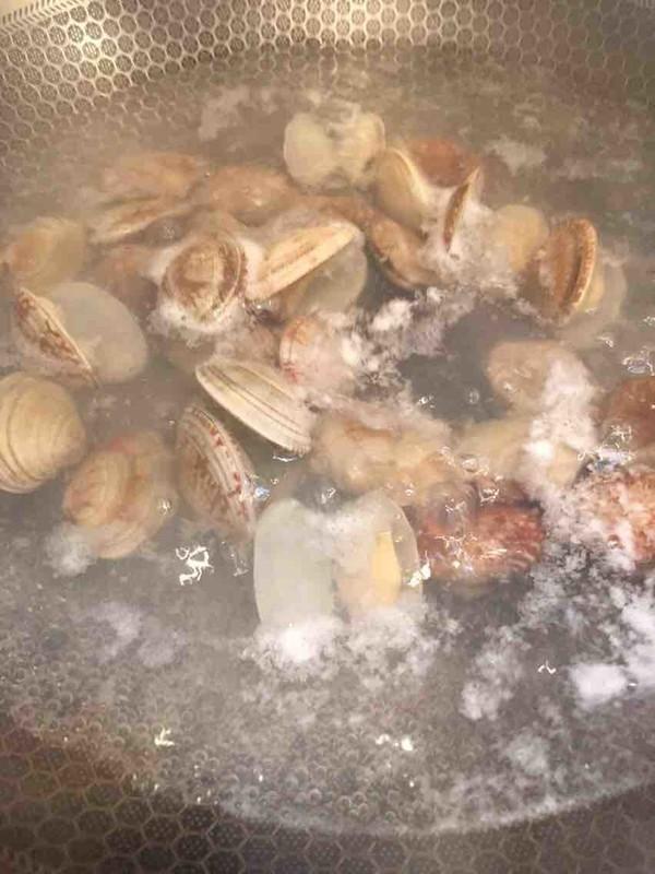 蛤蜊蒸蛋的做法图解