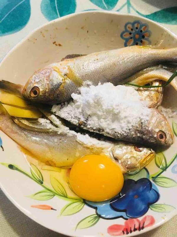 酥炸黄花鱼的做法图解