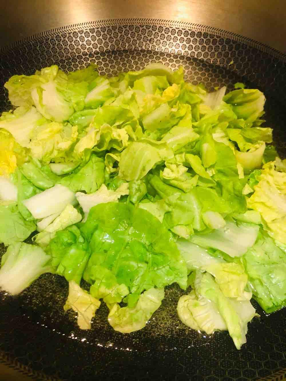 凉拌小白菜的家常做法