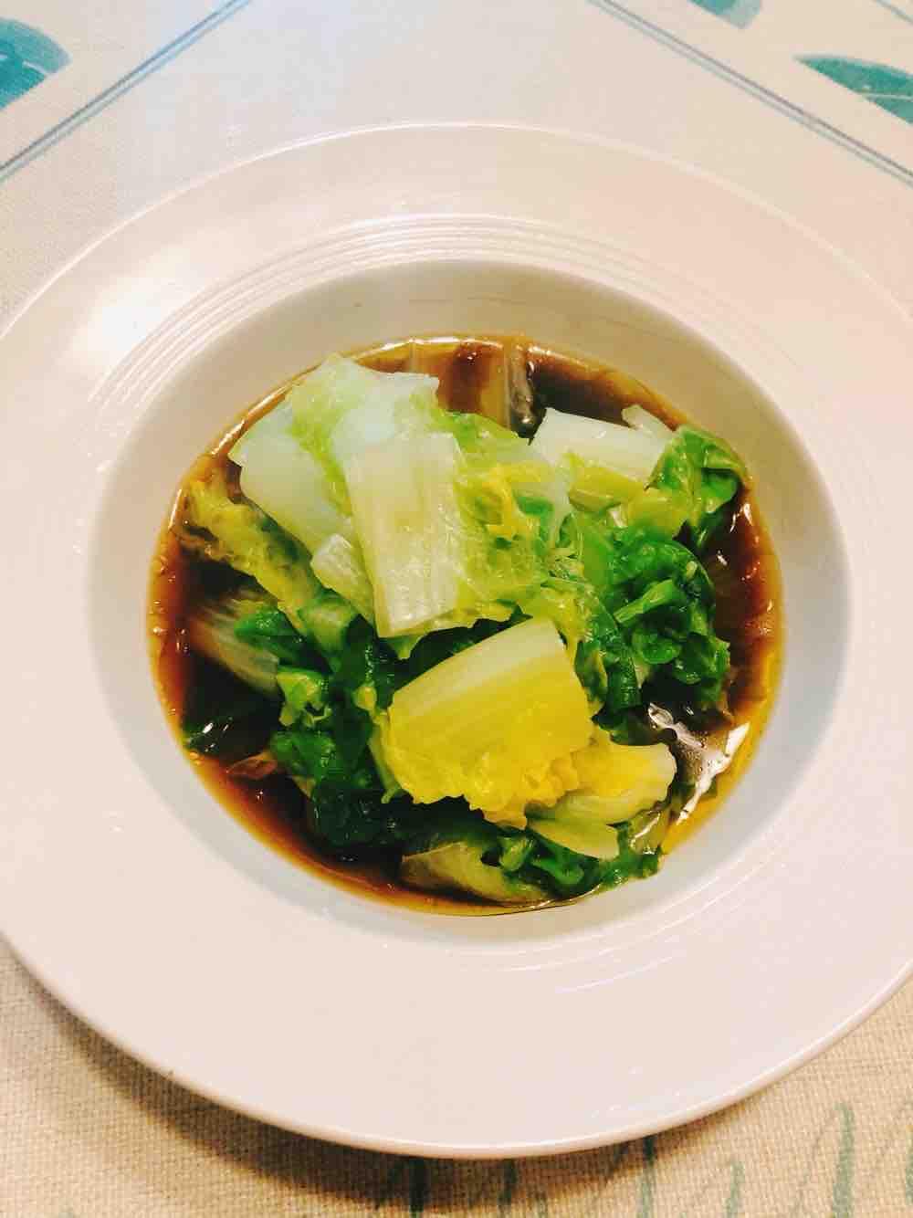 凉拌小白菜怎么吃