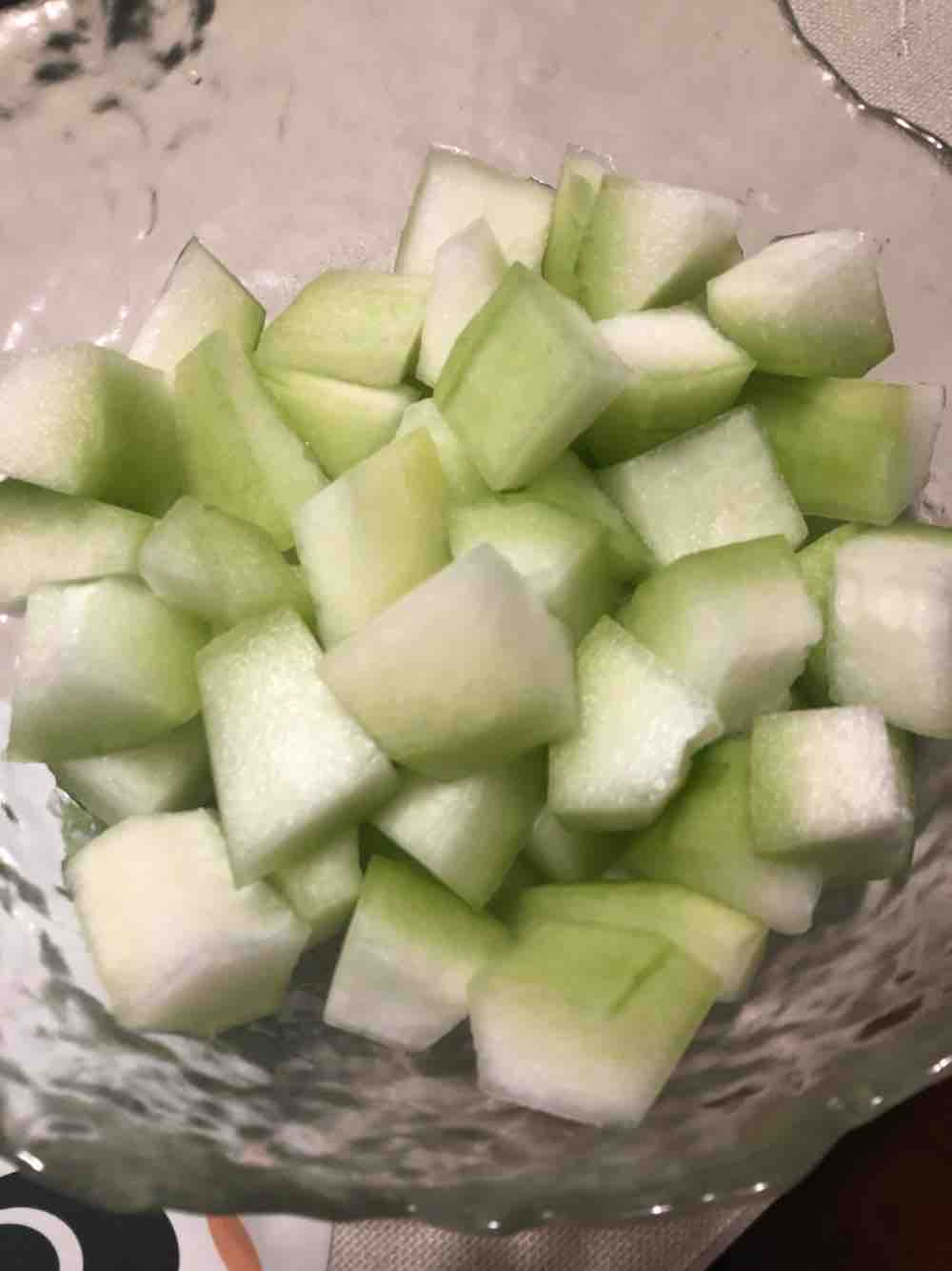 虾仁冬瓜汤的做法图解