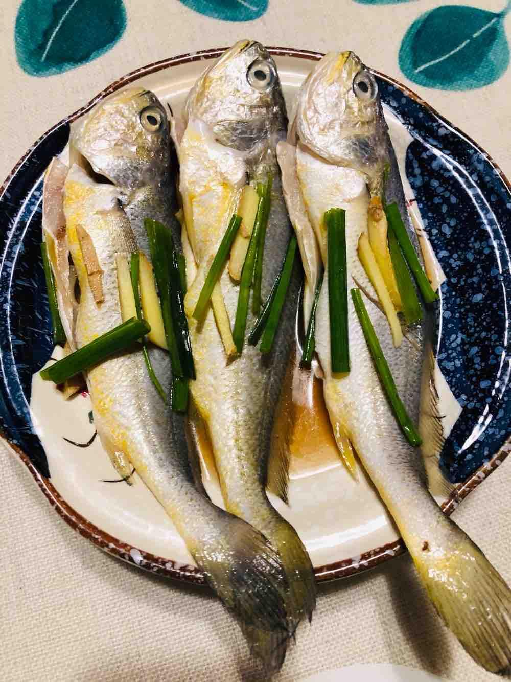 清蒸小黄鱼的做法大全