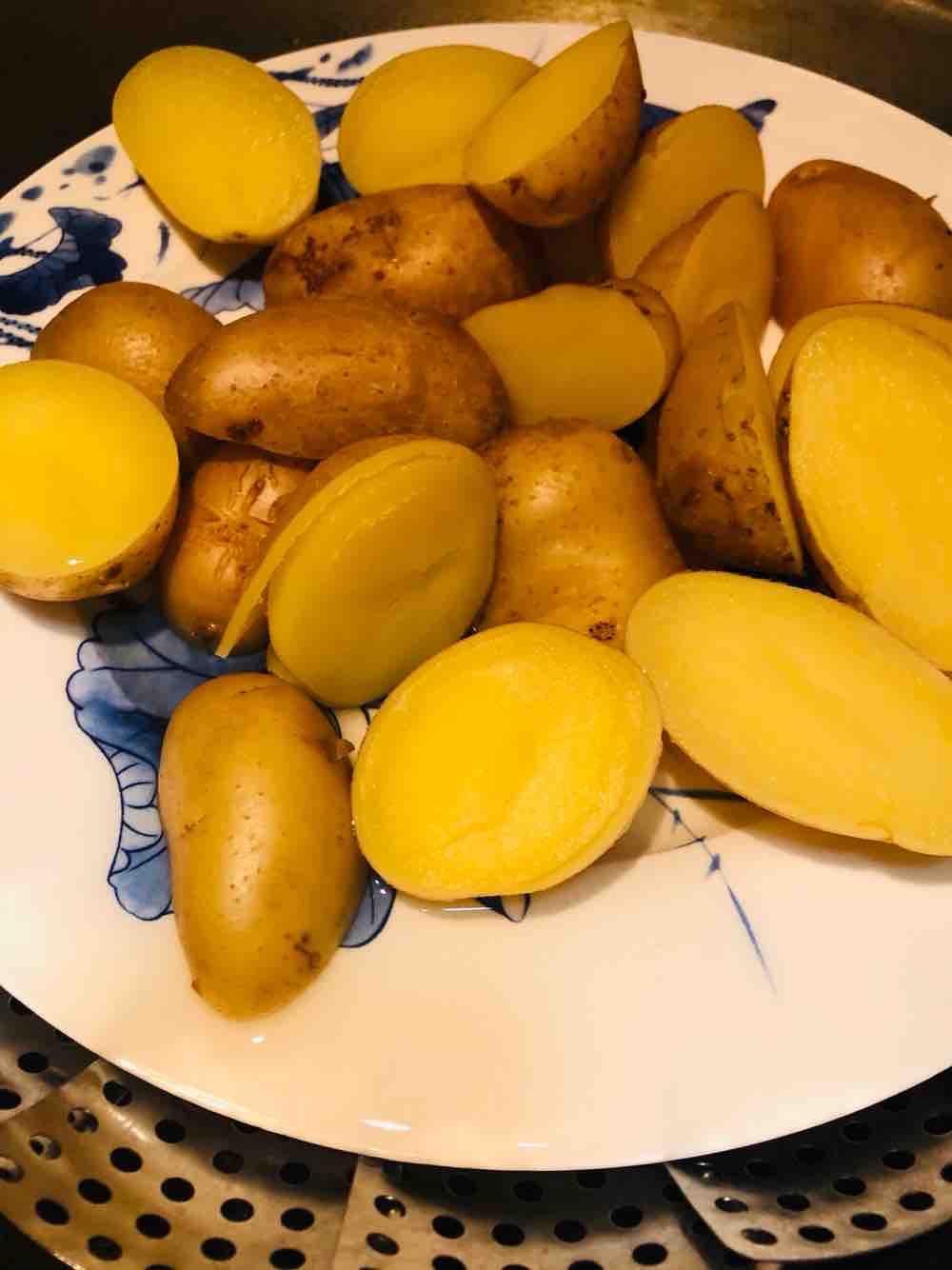 孜然椒盐小土豆的做法大全
