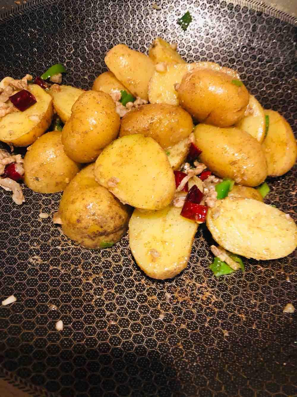 孜然椒盐小土豆的简单做法