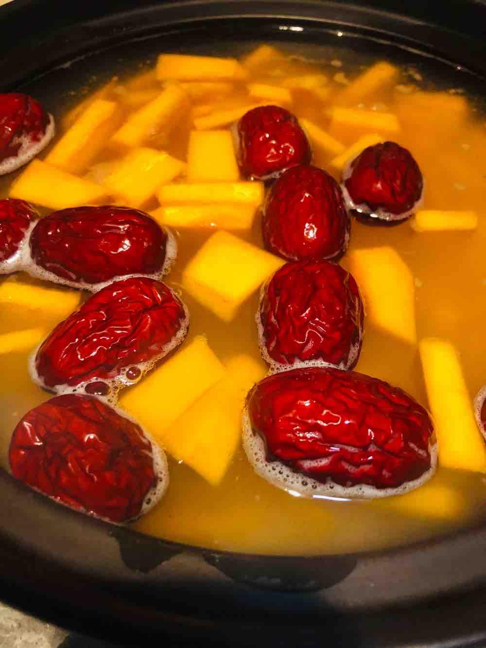 小米红枣南瓜粥的家常做法