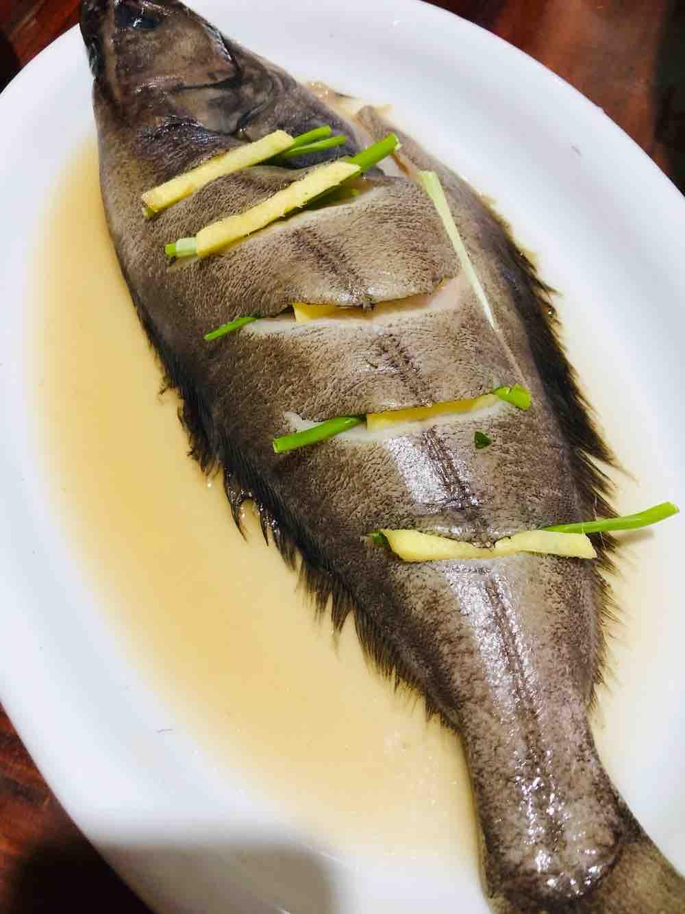 清蒸鸦片鱼的步骤