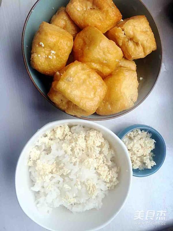 自制特色酿豆腐泡的简单做法