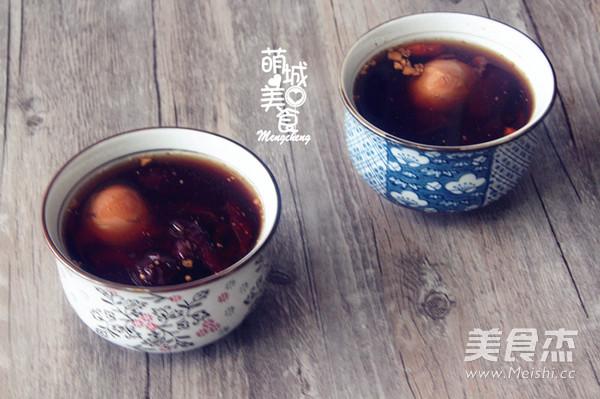 红枣枸杞鸡蛋桂圆茶怎么做