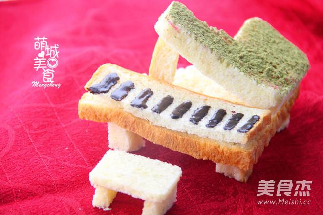 梦幻般的钢琴面包的做法大全