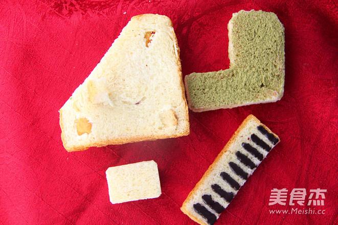 梦幻般的钢琴面包的做法图解