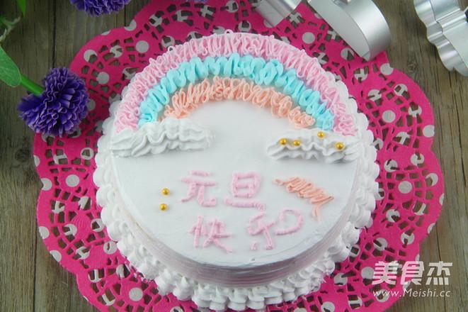 色彩斑斓 甜美的蛋糕怎样炒