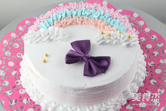 色彩斑斓 甜美的蛋糕怎样做