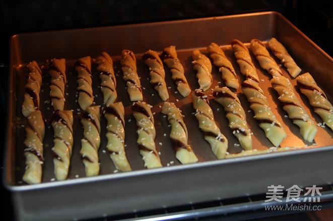 红豆扭扭酥怎样做