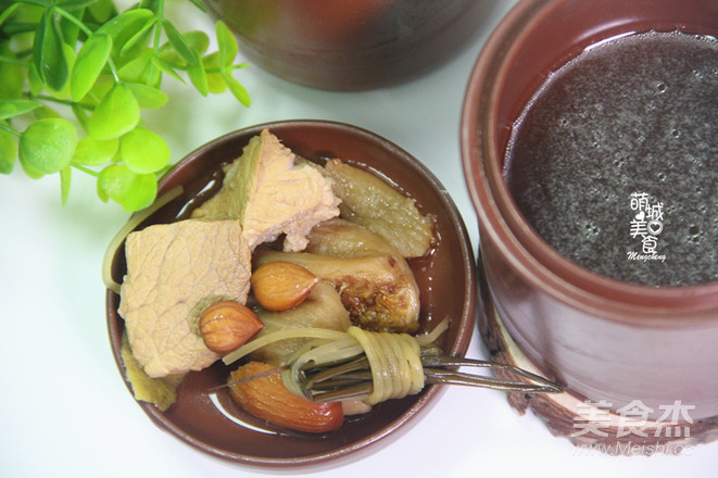 无花果灯芯球瘦肉汤怎么做