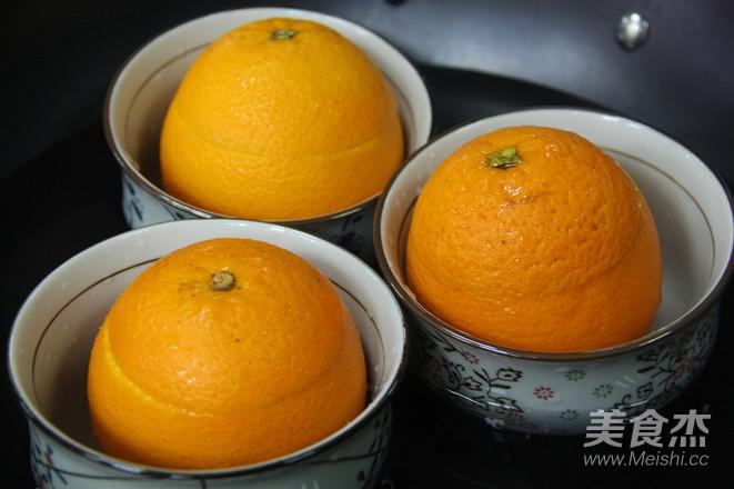 止咳神器——蒸橙子怎么吃