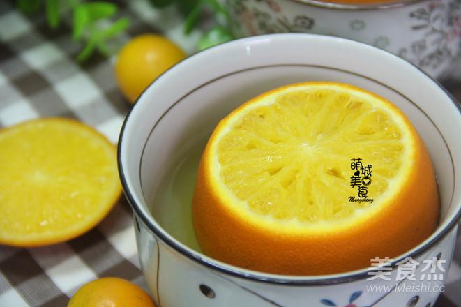止咳神器——蒸橙子怎么做