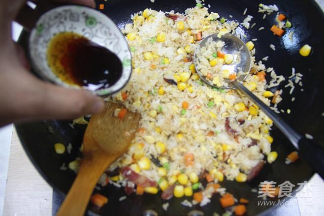 扬州炒饭怎么煮