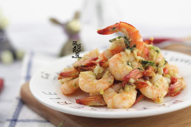 泰式辣虾成品图