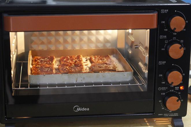 美的电烤箱#烤豆腐的简单做法