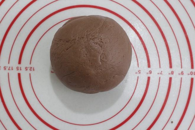 巧克力麻薯包(6个量)的家常做法